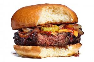 Le Veggie Burger qui ressemble et goûte tellement comme la viande, ça saigne