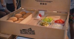Kit du hamburger à faire soit même à la maison