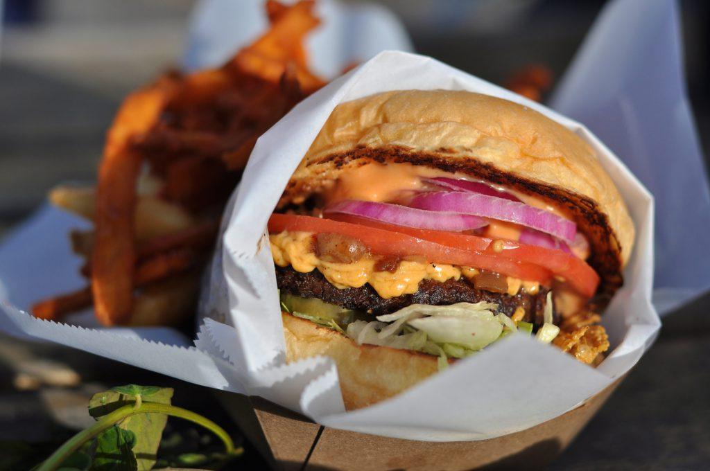 Burger sans viande vegan