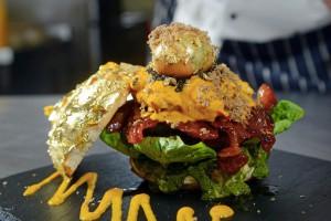 le « Glamburger », le burger le plus cher au monde à 1400€